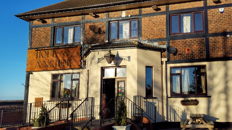 my review on the hope and anchor pub