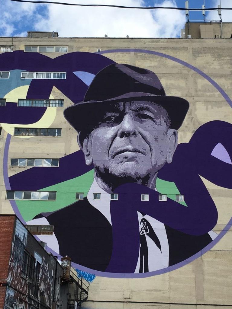 Finding street art in Montreal