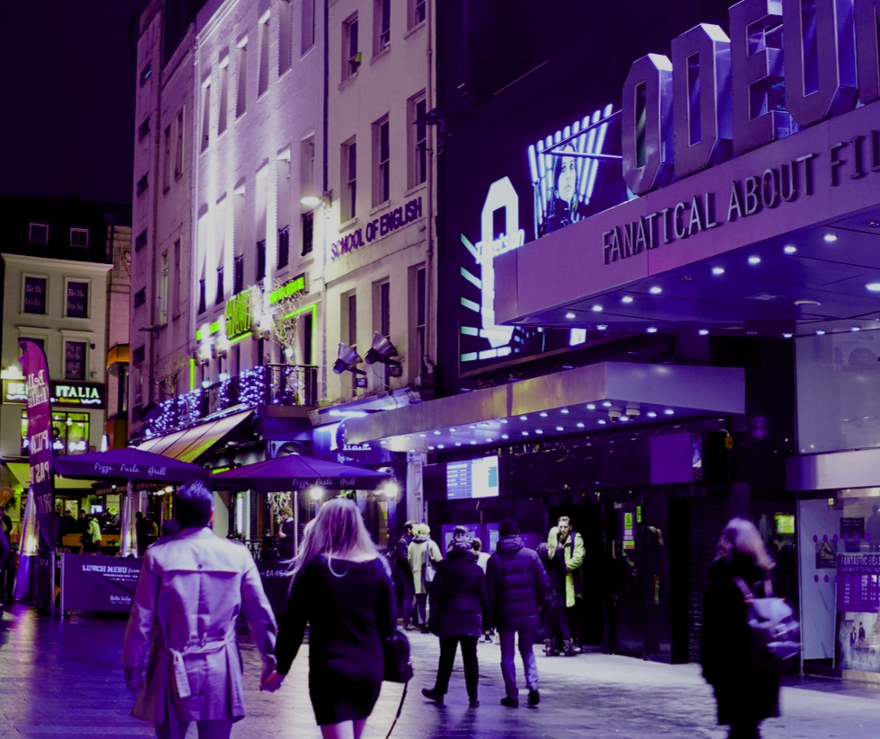 Cinema in Leicester Square London