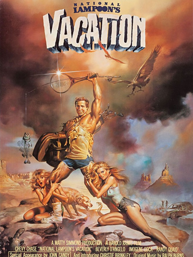 Natonal Lampoon's Vacation movie poster