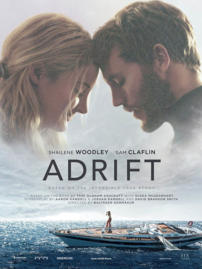 Adrift movie poster