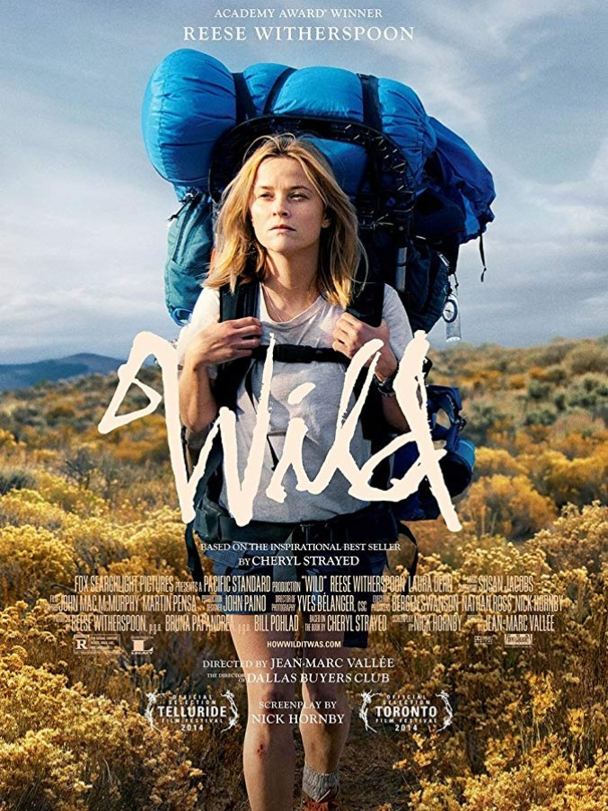 Wild movie poster with Reese Witherspoon